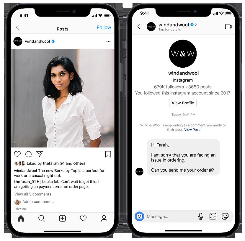 Instagram Messaging for Business