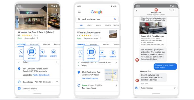 Google Business Messages